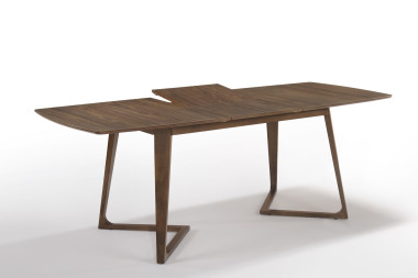 Деревянный стол Alissa 160 walnut — New Style of Furniture